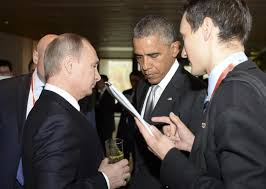 Obama Gives Russian President Cold Shoulder