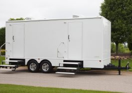 Commercial Portable Restroom Trailers